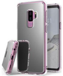 Ringke Mirror Samsung Galaxy S9 Plus Hoesje Silver
