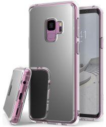 Ringke Mirror Samsung Galaxy S9 Hoesje Silver
