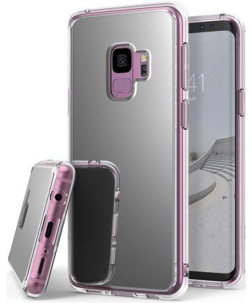 Ringke Mirror Samsung Galaxy S9 Hoesje Silver Hoesjes