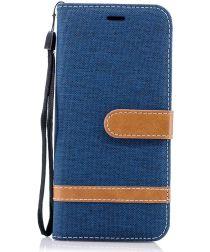 Samsung Galaxy S9 Portemonnee Hoesje Blauw