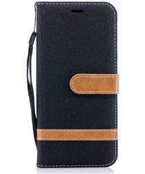 Samsung Galaxy S9 Portemonnee Hoesje Zwart