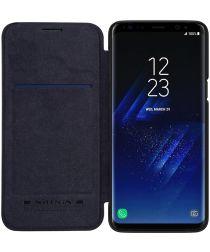 Nillkin Qin Book Samsung Galaxy S9 Hoesje Zwart