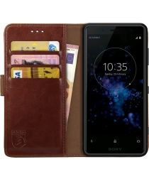 Rosso Element Sony Xperia XZ2 Compact Hoesje Book Cover Bruin