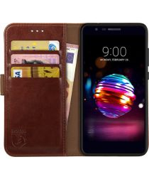 Rosso Element LG K11 Hoesje Book Cover Bruin