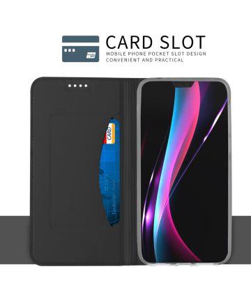 Huawei P20 Flip Hoesje met Kaart Houder Zwart