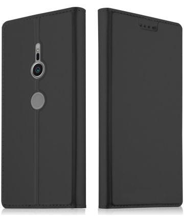 Sony Xperia XZ2 Book Case met Kaarthouder Zwart