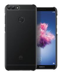 Huawei P Smart Originele PC Back Cover Case Zwart