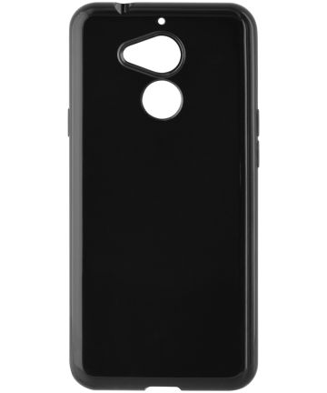 Origineel General Mobile GM8 TPU Hoesje Zwart Hoesjes