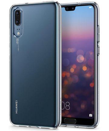 Spigen Liquid Crystal Hoesje Huawei P20 Clear Hoesjes
