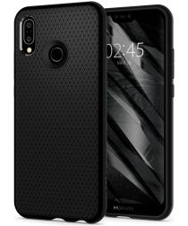 Spigen Liquid Air Case Huawei P20 Lite Zwart