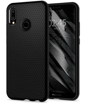 Spigen Liquid Air Case Huawei P20 Lite Zwart Hoesjes