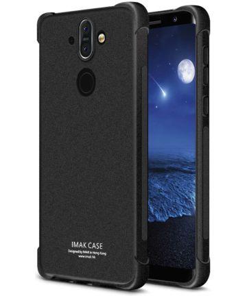IMAK Nokia 8 Sirocco Hoesje Schokbestendig en Flexibel TPU Matte Zwart