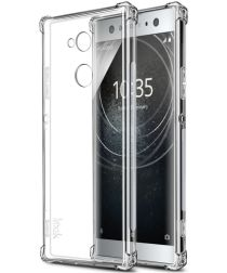 Sony Xperia XA2 Ultra TPU Hoesje met Display Folie Transparant