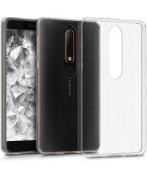 Nokia 6 (2018) Transparant Hoesje