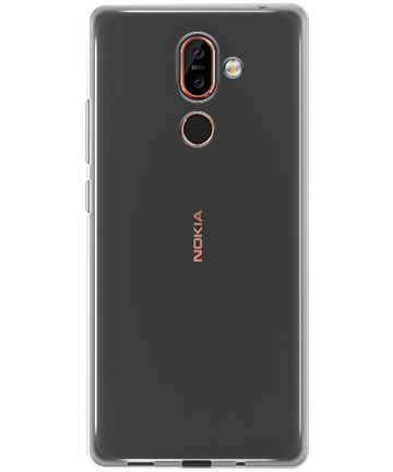 Nokia 7 Plus Transparant Hoesje