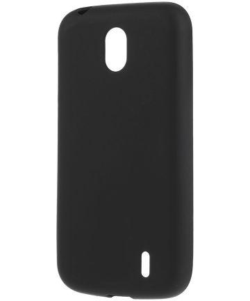 Nokia 1 TPU Hoesje Zwart
