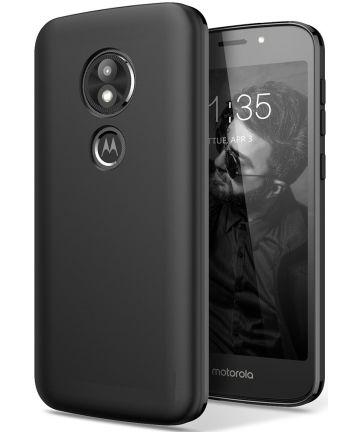Motorola Moto E5 TPU Hoesje Zwart