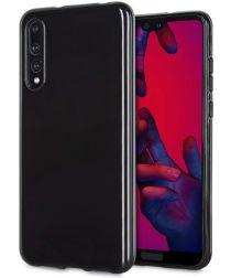Huawei P20 Pro TPU Hoesje Zwart