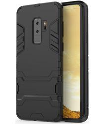 Hybride Samsung Galaxy S9 Plus Hoesje Zwart