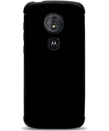 Motorola Moto E5 Hoesje met Bumper Zwart Hoesjes