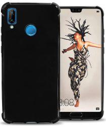 Huawei P20 Lite Hoesje met Bumper Zwart