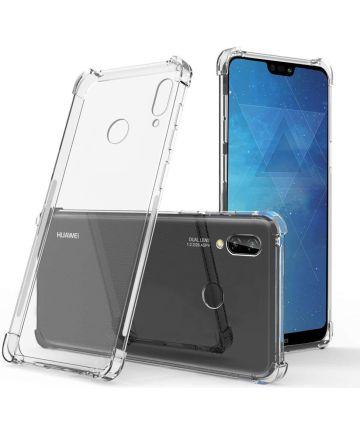 Huawei P20 Lite Hoesje met Bumper Transparant Hoesjes