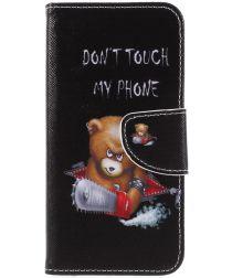 Huawei P Smart Portemonee Hoesje met Teddy Print