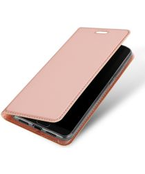 Dux Ducis Huawei P20 Bookcase Hoesje Roze Goud
