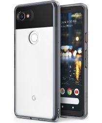Ringke Fusion Google Pixel 2 XL Hoesje Transparant Zwart
