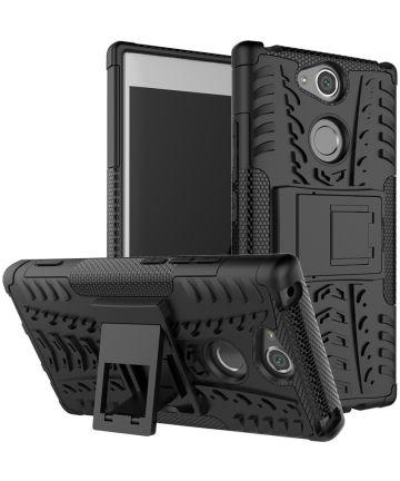 Sony Xperia XA2 Hybride Hoesje Zwart Hoesjes