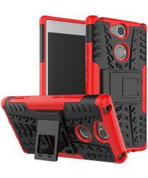 Sony Xperia XA2 Hybride Hoesje Rood