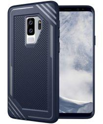 Samsung Galaxy S9 Plus TPU Hoesje Extra Grip Blauw