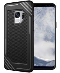 Samsung Galaxy S9 TPU Hoesje Extra Grip Zwart