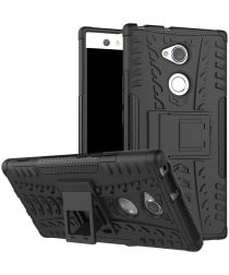 Sony Xperia XA2 Ultra Robuust Hybride Hoesje Zwart