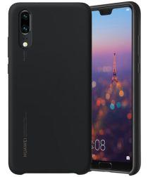Huawei P20 Originele Silicon Case Zwart