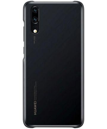 Huawei P20 Originele Color Case Zwart