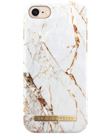 iDeal of Sweden iPhone SE 2020 Fashion Hoesje Carrara Gold