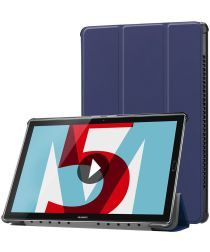 Huawei MediaPad M5 (10,8) Tri-Fold Front Cover Donker Blauw