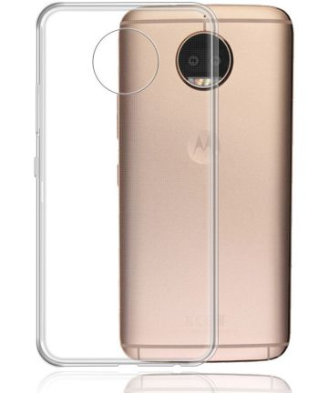 Motorola Moto G6 Hoesje Dun TPU Transparant Hoesjes