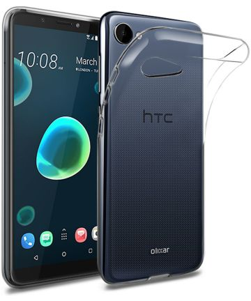 HTC Desire 12 Hoesje Dun TPU Transparant