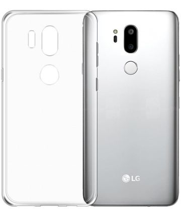 LG G7 Hoesje Dun TPU Transparant Hoesjes