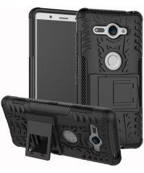 Sony Xperia XZ2 Compact Hybride Hoesje Zwart