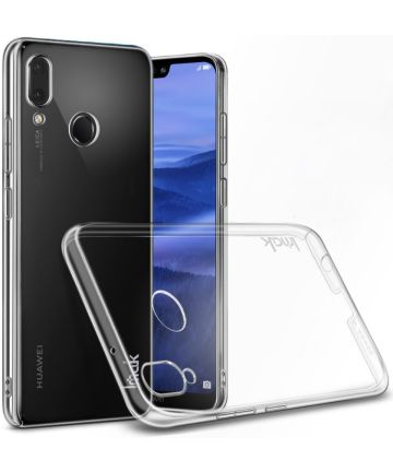 IMAK Crystal II Series Huawei P20 Lite Hoesje Hard Plastic Transparant Hoesjes