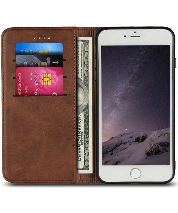 iPhone 7/8 Premium Bookcase Bruin Hoesjes