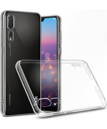 IMAK Crystal II Series Huawei P20 Pro Hoesje Hard Plastic Transparant