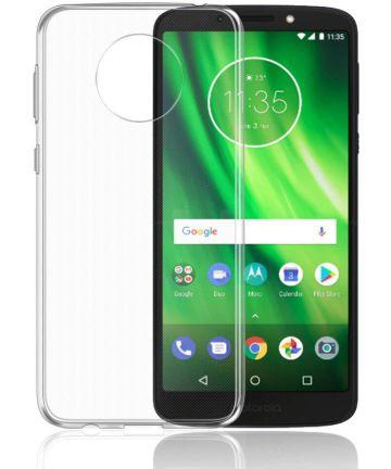 Motorola Moto G6 Play Transparant Hoesje Hoesjes