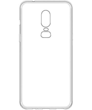 OnePlus 6 Transparant Hardcase Hoesje Hoesjes