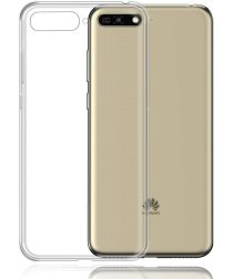 Huawei Y6 (2018) Dual-Sim Hoesje Transparante Back Cover