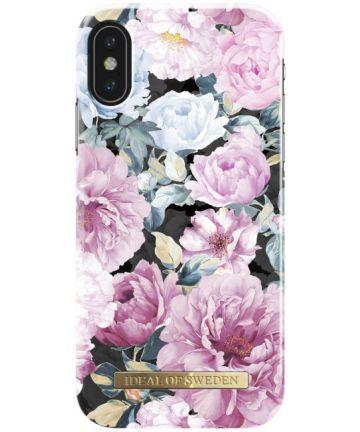 iDeal of Sweden iPhone XS / X Fashion Hoesje Peony Garden