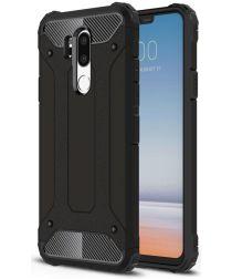 LG G7 Hybride Hoesje Zwart